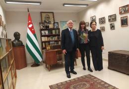 Экскурсия по библиотеке для Татьяны Манежиной - первого заместителя Министра культуры Республики Крым