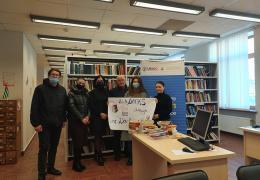 Национальная библиотека им. И. Г. Папаскир получила в дар книги