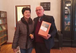Национальная библиотека им. И. Г. Папаскир получила в дар книги от Светланы Джергения