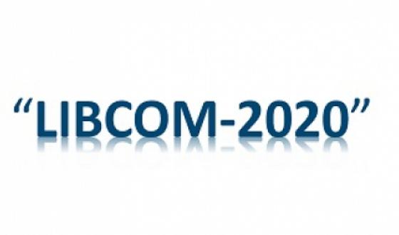 """Участие Национальной библиотеки им. И. Г. Папаскир в Конференции """"LIBCOM – 2020"""" в онлайн-формте"""