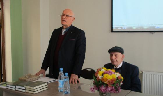 85-летие Владимира Константиновича Басария в Национальной библиотеке им. И. Г. Папаскир